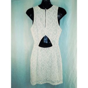 Vintage lace dress by Divided